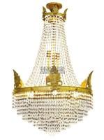 8灯式吊灯 -  - 装饰艺术专场 - 2011秋季伊斯特东京拍卖会 -中国收藏网