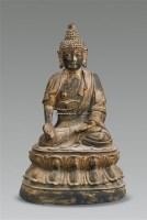 泥金铜佛像 -  - 古董珍玩 - 2011春季艺术品拍卖会 -收藏网