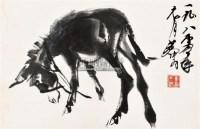 墨驴图 镜心 纸本水墨 - 7693 - 中国书画(二) - 2011春季艺术品拍卖会 -收藏网
