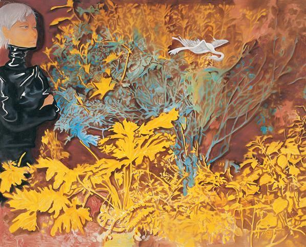 熊宇 2005年作 花园 布面油画 - 153227 - 中国当代艺术 - 2006秋季艺术品拍卖会 -收藏网