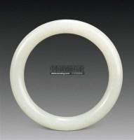 白玉手镯 -  - 中国古典家具及古董珍玩 - 2011年春季艺术品拍卖会 -中国收藏网