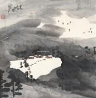 云过大江岸 软片 - 范华 - 中国书画 - 2011年春季艺术品拍卖会 -收藏网