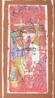 粤娘图 镜心 设色纸本 - 88994 - 中国书画(三)—载玉怀珠 - 2011春季艺术品拍卖会 -收藏网
