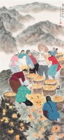 人物 立轴 纸本 - 20046 - 中国书画(一) - 庆二周年秋季拍卖会 -收藏网
