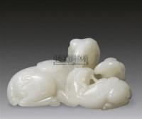 青白玉雕三羊开泰摆件 -  - 瓷器 玉器 工艺品 - 2011春季艺术品拍卖会 -收藏网