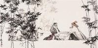 蔡超    对弈图 - 蔡超 - 中国书画 - 2007春季中国书画名家精品拍卖会 -收藏网