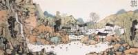 山水 镜心 设色纸本 - 林容生 - 中国当代书画 - 2006秋季艺术品拍卖会 -收藏网