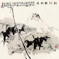 板桥观竹图 镜框 - 5525 - 中国书画 - 2011年春季艺术品拍卖会 -收藏网