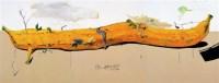 《三连画狂想的永恒》 布上丙烯 -  - 中国当代油画雕塑、朝鲜、俄罗斯油画专场 - 2011首届秋季拍卖会 -中国收藏网