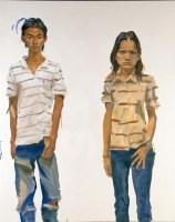 刘小东    素慧、水蛭 - 153213 - 中国当代艺术(二) - 2007春季拍卖会 -收藏网