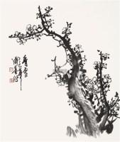 香雪 立轴 设色纸本 - 123779 - 中国书画(一) - 2011年金秋精品书画拍卖会 -收藏网