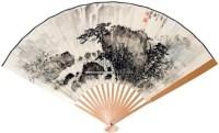 松瀑成扇 - 137668 - 中国书画 - 2011年江苏景宏国际春季书画拍卖会 -收藏网