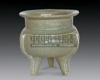 龙泉窑鬲炉 -  - 瓷器 杂项 - 2007春季艺术品拍卖会 -收藏网