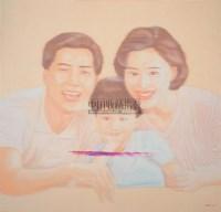 家庭标准 布面油彩 - 杨冕 - 中国油画及雕塑 - 2006年春季拍卖会 -收藏网
