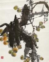 枇杷 镜心 纸本 -  - 中国书画 - 2011秋季拍卖会 -收藏网