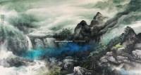 山水 镜心 设色纸本 - 陈亮 - 书画 - 2010年秋季拍卖 -中国收藏网
