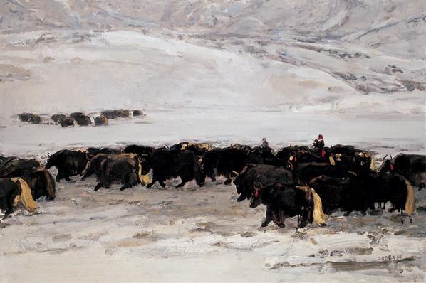 王琨 王琨 2006年 高原魂系列 布面 油画