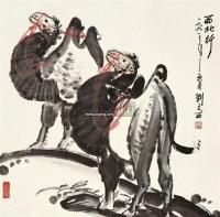 西北行 镜片 设色纸本 - 115997 - 中国书画二 - 2011年秋季拍卖会 -收藏网
