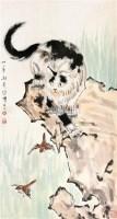 猫 立轴 纸本 - 116101 - 中国书画(一) - 庆二周年秋季拍卖会 -收藏网