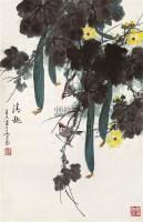 清趣 立轴 设色纸本 - 乔木 - 中国书画(一) - 2011年夏季拍卖会 -收藏网