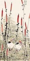 江湖生涯 镜片 - 王宽 - 中国书画 - 2011年春季艺术品拍卖会 -收藏网
