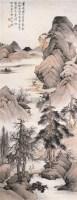 剡溪景象 立轴 设色纸本 - 许昭 - 中国书画(二) - 2006年秋季艺术品拍卖会 -收藏网