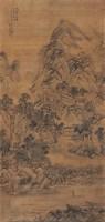 千山叠嶂图 立轴 设色绢本 -  - 中国古代书画 - 2006秋季拍卖会 -收藏网
