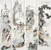 高士图 镜心 设色纸本 - 140367 - 中国书画 - 2011秋季艺术品拍卖会 -收藏网