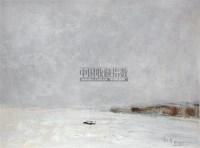 九龙江风雨 布面油画 - 张钦若 - 油画 - 2007年油画拍卖会 -收藏网