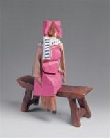 朱铭 2004年作 人间系列 木雕 - 朱铭 - 西洋美术 - 2006秋季大型艺术品拍卖会 -收藏网