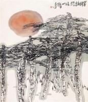 暮归图 立轴 设色纸本 - 119214 - 海外回流书画专场(五) - 2011秋季艺术品拍卖会 -收藏网