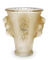 """勒内·拉利克 """"圣艾米莉安""""花瓶 -  - 装饰美术 - 2011秋季伊斯特香港拍卖会 -收藏网"""
