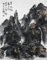 山水 镜心 设色纸本 - 119496 - 当代书画名家精品专场 - 2008春季拍卖会 -收藏网