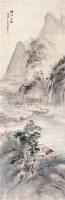 西江竹楼 立轴 设色纸本 - 6106 - 中国书画专场 - 2007年精品预展 -收藏网