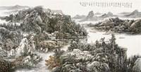 山水 镜片 - 124538 - 中国书画 - 2011年首屇艺术品拍卖会 -收藏网