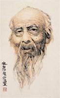 齐白石 立轴 设色纸本 - 梁岩 - 中国书画 - 2008夏季拍卖会 -收藏网