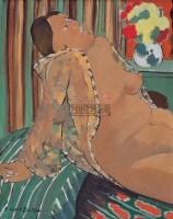 敞开衣服 布面油彩 - 林晓 - 中国油画及雕塑 - 2006年春季拍卖会 -收藏网