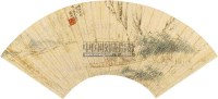 人物 扇面 设色纸本 - 123431 - 中国书画(一) - 2010秋季艺术品拍卖会 -收藏网