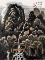 山水 镜片 纸本 - 139817 - 中国书画 - 2011春季艺术品拍卖会 -收藏网