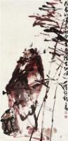 钟馗 镜心 设色纸本 - 李世南 - 中国书画(二) - 2012迎春艺术品拍卖会 -收藏网