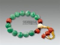 老翡翠珊瑚手串 -  - 古董珍玩 - 2011年春季艺术品拍卖会 -收藏网