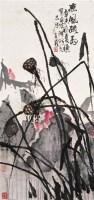 熏风疏雨 镜心 设色纸本 - 张立辰 - 中国当代书画 - 2006冬季拍卖会 -收藏网