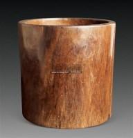 黄花梨笔筒 -  - 古董名表专场 - 2011年春季艺术品拍卖会 -收藏网