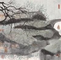 江南景 镜片 纸本 - 4724 - 保真作品专题 - 2011春季书画拍卖会 -收藏网