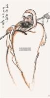 达摩大师 立轴 设色纸本 - 140531 - 书画专场 - 2011年夏季艺术品拍卖会 -收藏网