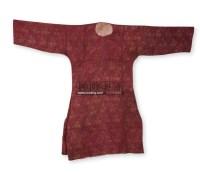 织锦人物长衫 -  - 古董珍玩专场 - 翰海四季(第72期)拍卖会 -收藏网