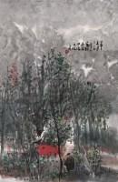曾宓 2004年作 山水 镜心 水墨纸本 - 114993 - 中国书画(一) - 2006秋季艺术品拍卖会 -收藏网