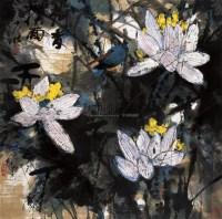 王乃壮 彩荷 立轴 纸本 - 王乃壮 - 中国书画(一) - 2006年第4期嘉德四季拍卖会 -收藏网