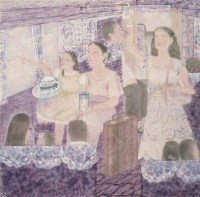 刘晏 欢乐旅途 镜心 设色纸本 -  - 当代中国书画(一) - 2006畅月(55期)拍卖会 -中国收藏网