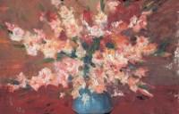 沙耆 花卉 油画 - 沙耆 - 油画专场 - 2006首届艺术品拍卖会 -收藏网